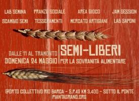 Semi-liberi, giornata per la sovranità alimentare