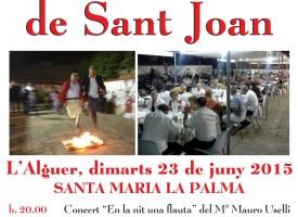 """""""Focs de Sant Joan"""" anche a S. M. la Palma"""