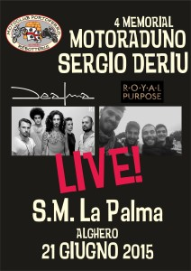 locandina musica motoraduno 21-06-2015
