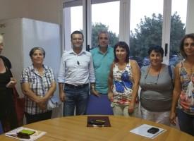 I Comitati di Borgata dal Vicesindaco Raimondo Cacciotto