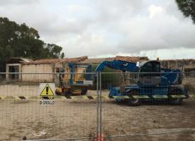Partono i lavori di bonifica dell'amianto nelle ex Officine Zirra