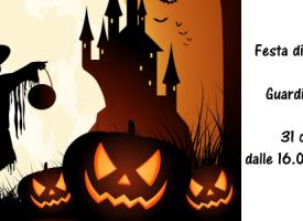 31 ottobre, festa di Halloween a Guardia Grande!