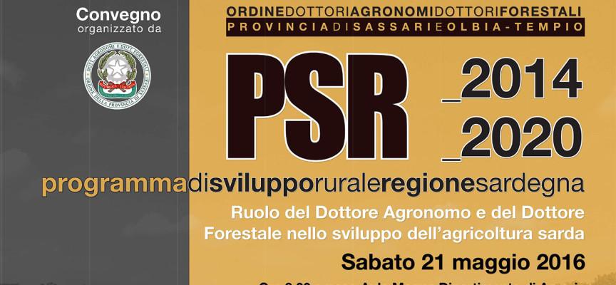 PSR 2014-2020: convegno sul ruolo del Dottore Agronomo e del Dottore Forestale nello sviluppo dell'agricoltura sarda