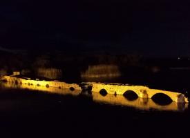 Nuova vita all'area del vecchio ponte sul Calich