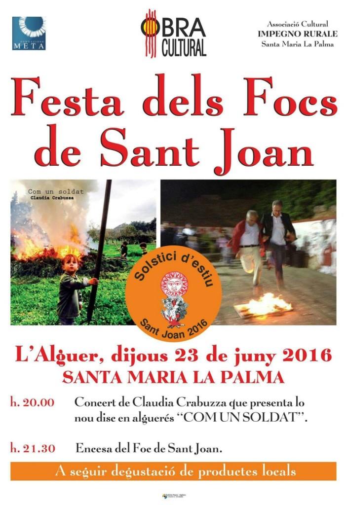 Focs de Sant Joan  23 06 2016