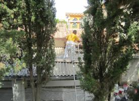 Guardia Grande: avviato primo intervento per la messa in sicurezza e parziale fruizione della ex canonica