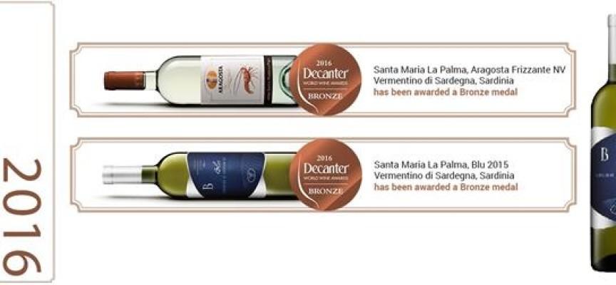 Decanter 2016: nuovo successo per i vini della Cantina di Santa Maria la Palma