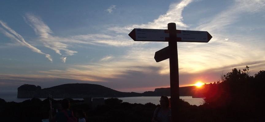 In cammino sotto le stelle, camminata ludico sportiva a Punta Giglio