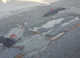 Avviati interventi di tamponamento buche nell'asfalto