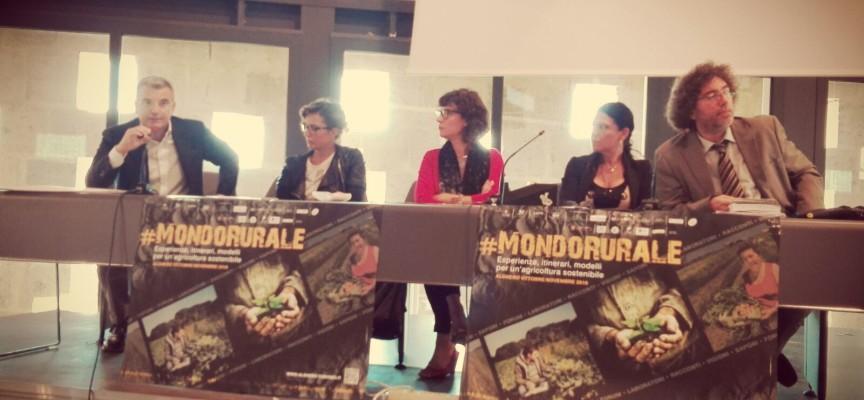 Parte #MondoRurale 2016: esperienze, itinerari e modelli per un'agricoltura sostenibile