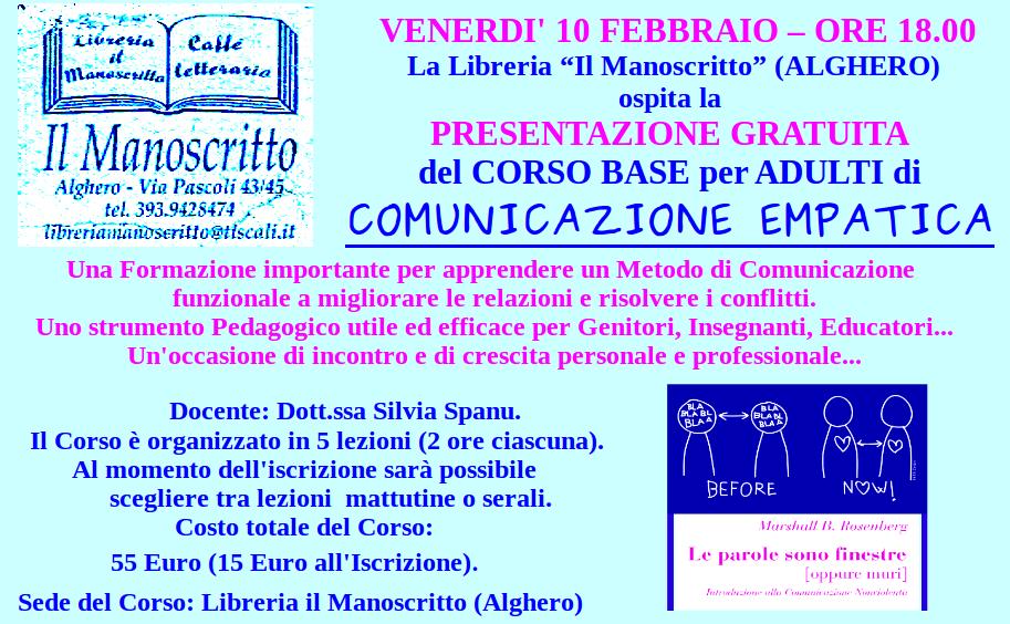 Locandina Corso Comunicazione Empatica x Scuole