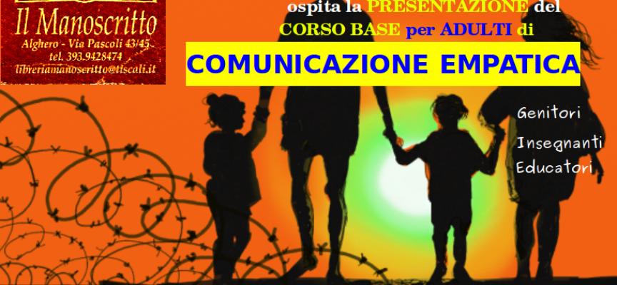 """Alghero –  Corso di Comunicazione Empatica per Adulti al """"Manoscritto"""""""