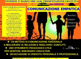 Alghero – Riparte la Formazione per Adulti sulla Comunicazione Empatica/Nonviolenta